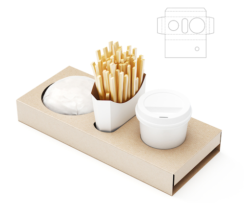 Food Package Company Tray