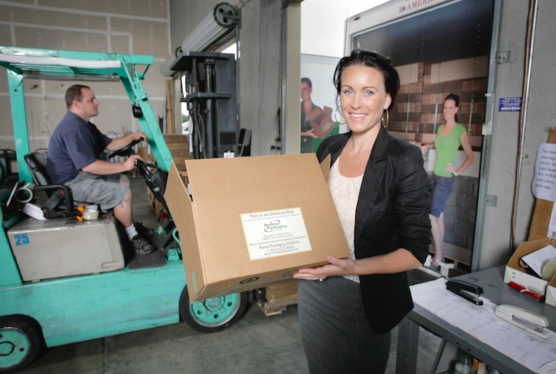 Amanda Ramsey of Renew Packaging Solutions Photo