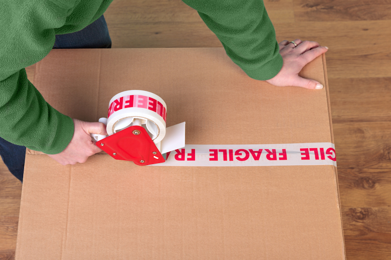 tape gun fragile box company